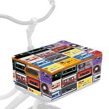 Fietskrat + hoes combi cassettebandjes