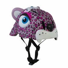 Kinderhelm luipaard roze Crazy Stuff