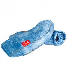 Fiets handwarmers Wobs jeans (handremversie)