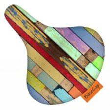 Zadelhoesje bikecap steigerhout planken