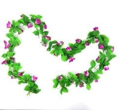 Bloemenslinger fietsslinger paars