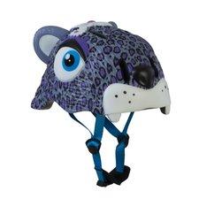 Kinderhelm luipaard paars (Crazy Stuff)