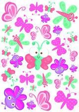 Fietsstickers kleine vlindertjes