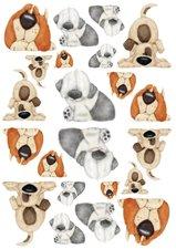 Fietsstickers honden