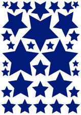 Fietsstickers sterren donkerblauw