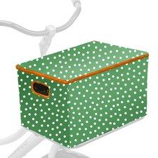 Fietskrathoes XL Allover polkadot stippen groen