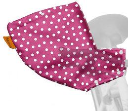 Handmoffen - Fiets handwarmers stippen roze