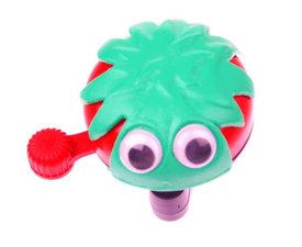 Fietsbel met ogen groen/rood