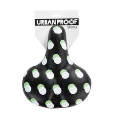 Fietszadel Urban Proof stippen zwart