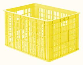 Fietskrat geel (groot)