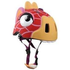 Kinderhelm giraffe rood (Crazy Stuff)