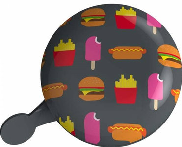 fietsbel snacks patat hamburger