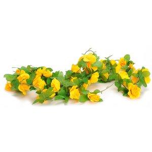 bloemenslingers bloemslinger geel
