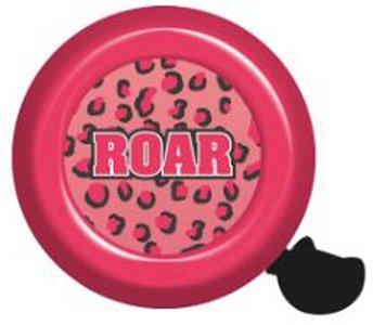 fietsbel tijger roze roar