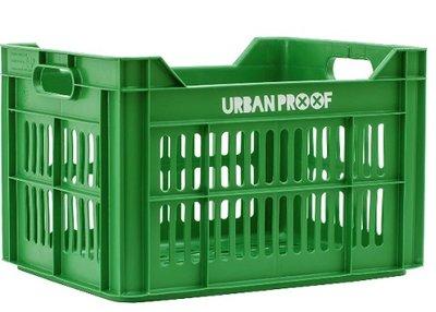 Urban Proof fietskrat groen