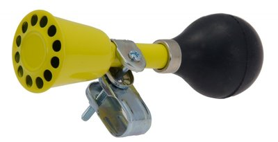fietshoorn geel