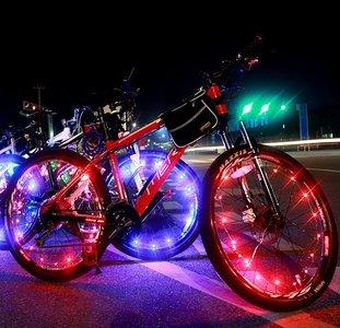 fiets wiel verlichting