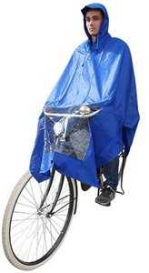fiets regenponcho blauw