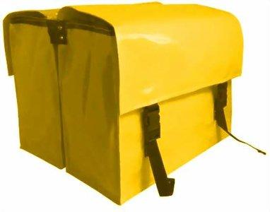 fietstassen sterk groot geel