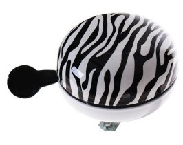 fietsbel zebra print