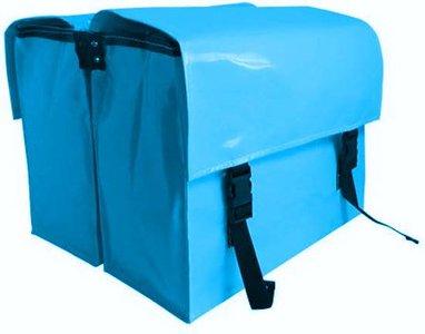 sterke fietstassen lichtblauw