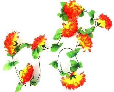fietsslingers bloemslinger fietsenslingers oranje geel