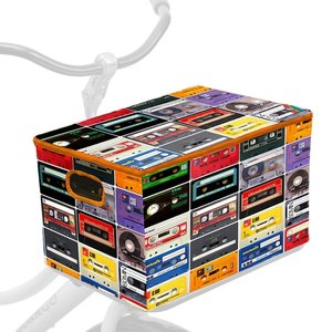 fietskrathoes cassettebandjes
