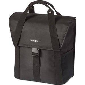 Fietstas voor E-bike Basil Go single bag zwart