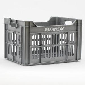 Fietskrat grijs stoer urban proof