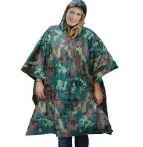regenponcho camouflage