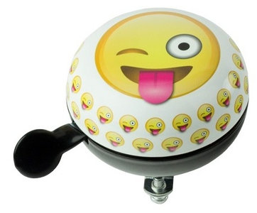 fietsbel smiley emojies