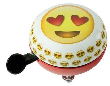 fietsbel emojies smileys hartjes