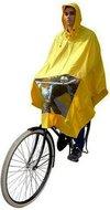 regenponcho fiets geel