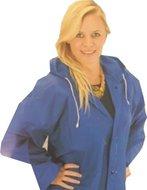 goedkope regenjas blauw