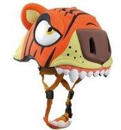 kinderhelm tijger oranje