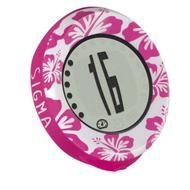 fietscomputer aloha roze bloem