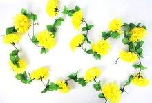 bloemenslingers fietsslingers guirlande geel