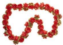 bloemenslingers bloemslingers fietsslingers rood